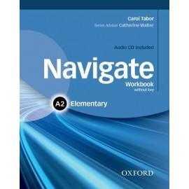 Navigate Elementary Workbook without Key + Audio CD