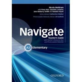 Navigate Elementary Teacher's Book + Teacher's Resource CD-ROM