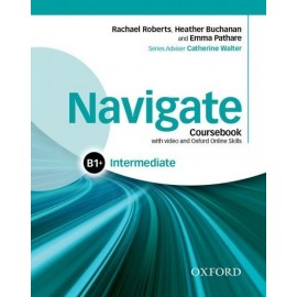 Navigate Intermediate Coursebook + DVD-ROM + Oxford Online Skills Practice