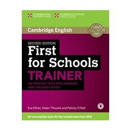 First for Schools Trainer Second Edition + Teachers Notes + Audio download