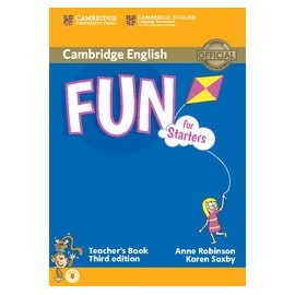 Fun for Starters Third Edition Teacher's Book + Audio download