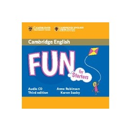 Fun for Starters Third Edition Audio CD