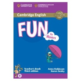 Fun for Movers Third Edition Teacher's Book + Audio download