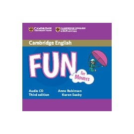 Fun for Movers Third Edition Audio CD