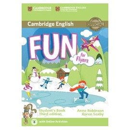 Fun for Flyers Third Edition Student's Book + Audio download