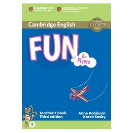 Fun for Flyers Third Edition Teacher's Book + Audio download