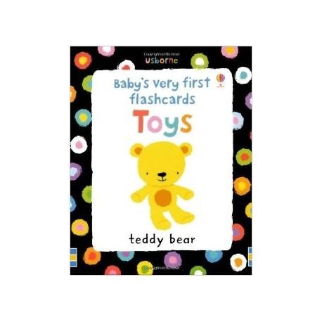 Usborne Baby's Very First Flashcards: Toys Usborne Publishing 9781409536857