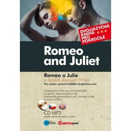 Romeo and Juliet / Romeo a Julie a dalších slavných 19 her + MP3 Audio CD