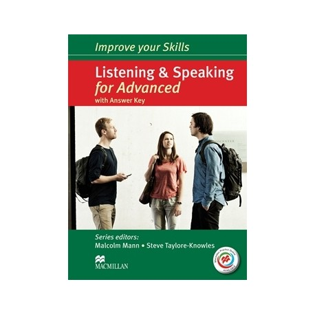 Improve your Skills: Listening & Speaking for Advanced Student's Book with key + CDs + Macmillan Practice Online Macmillan 9780230462847