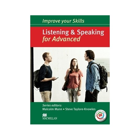 Improve your Skills: Listening & Speaking for Advanced Student's Book without key + CDs + Macmillan Practice Online Macmillan 9780230462823