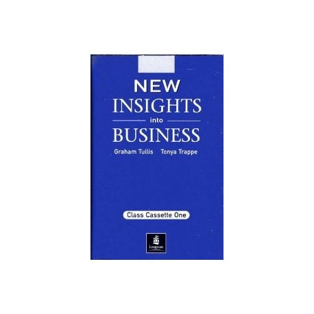 New Insights into Business Class Audio Cassettes (2) Longman 9780582335547
