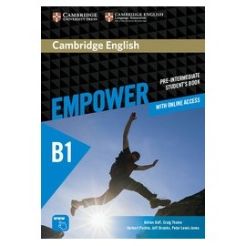 Empower Pre-intermediate Student's Book + Online Workbook + Online Assessment and Practice