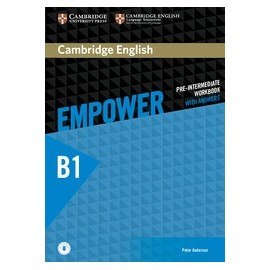 Empower Pre-intermediate Workbook with Answers + Audio download