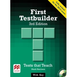 First Testbuilder Third Edition Student's Book Pack with Key + CD