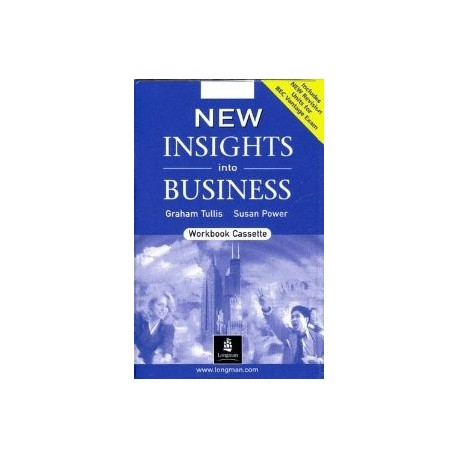 New Insights into Business Workbook (BEC) Audio Cassette Longman 9780582838017