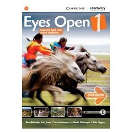 Eyes Open 1 Student's Book with Online Workbook + Online Practice
