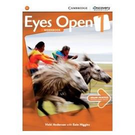 Eyes Open 1 Workbook + Online Practice