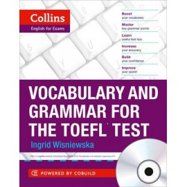 Collins English for Exams: Vocabulary and Grammar for the TOEFL Test + MP3 Audio CD