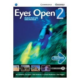 Eyes Open 2 Student's Book with Online Workbook + Online Practice
