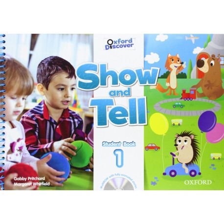 Oxford Discover Show and Tell 1 Student Book + MultiROM Oxford University Press 9780194779081
