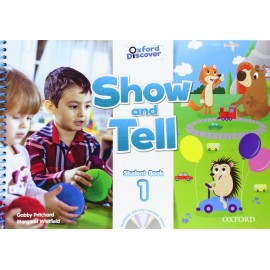 Oxford Discover Show and Tell 1 Student Book + MultiROM