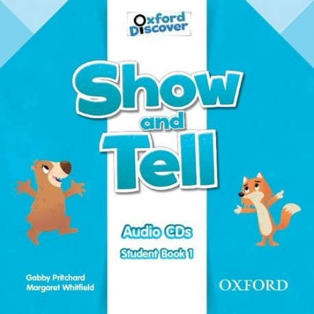 Oxford Discover Show and Tell 1 Class Audio CDs Oxford University Press 9780194779067