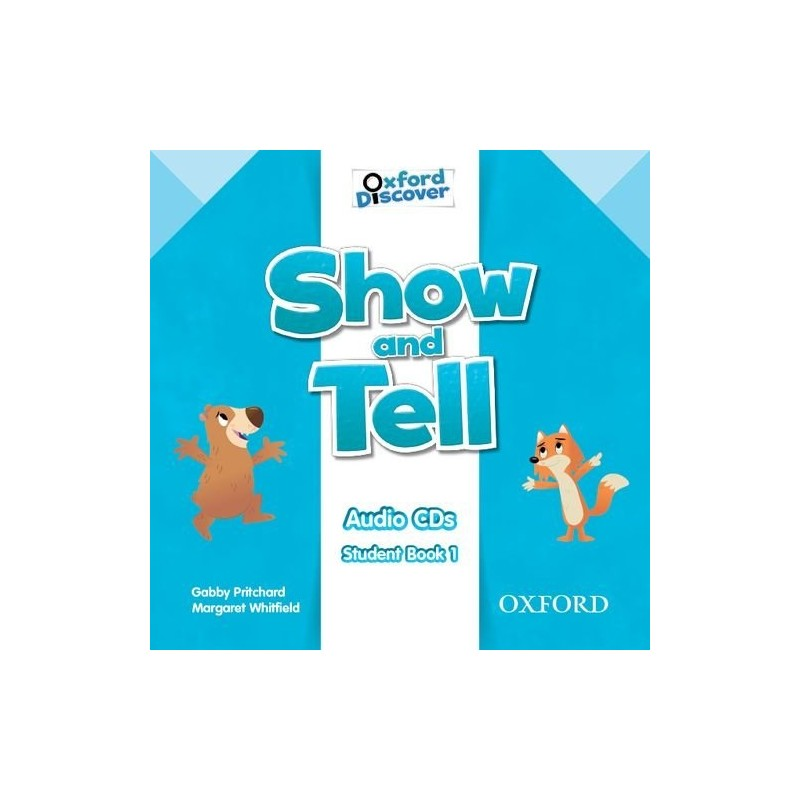 show and tell student book 1