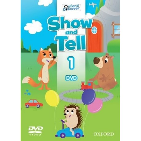 Oxford Discover Show and Tell 1 DVD Oxford University Press 9780194779050