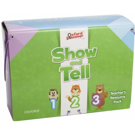 Oxford Discover Show and Tell 1 - 3 Teacher's Resource Pack Oxford University Press 9780194779074