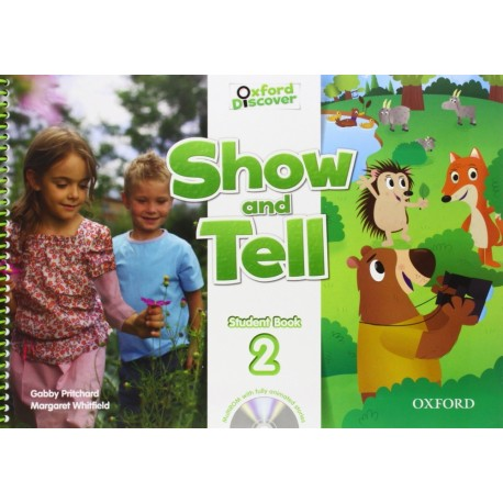 Oxford Discover Show and Tell 2 Student Book + MultiROM Oxford University Press 9780194779227