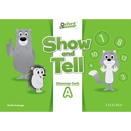 Oxford Discover Show and Tell 2 Numeracy Book (A) Oxford University Press 9780194779159