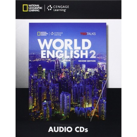 World English Second Editon 2 Class Audio CDs Cengage Learning 9781285848488