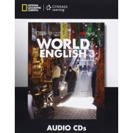 World English Second Editon 3 Class Audio CDs