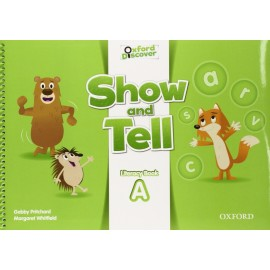 Oxford Discover Show and Tell 2 Literacy Book (A)
