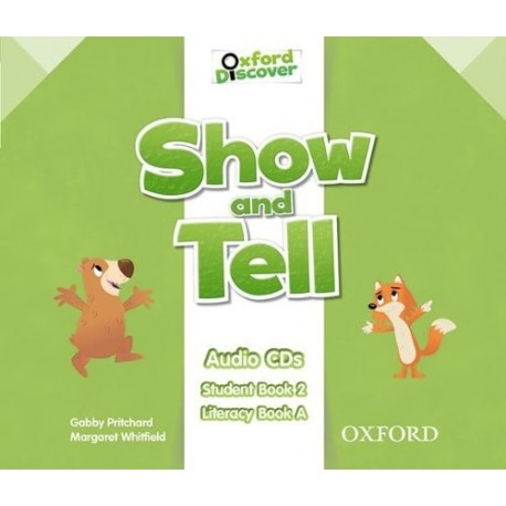 Oxford Discover Show and Tell 2 Class Audio CDs Oxford University Press 9780194779203