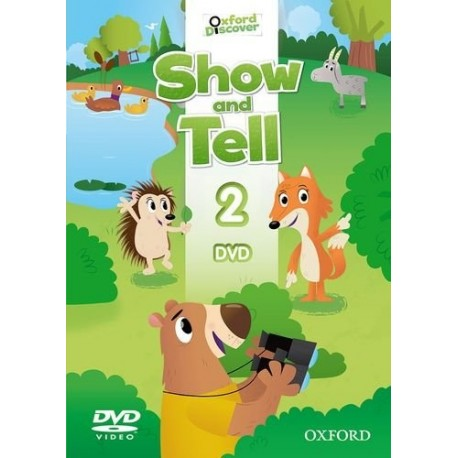 Oxford Discover Show and Tell 2 DVD Oxford University Press 9780194779197