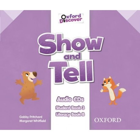 Oxford Discover Show and Tell 3 Class Audio CDs Oxford University Press 9780194779340