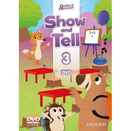 Oxford Discover Show and Tell 3 DVD Oxford University Press 9780194779333