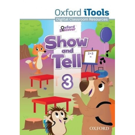 Oxford Discover Show and Tell 3 iTools DVD-ROM Oxford University Press 9780194779401