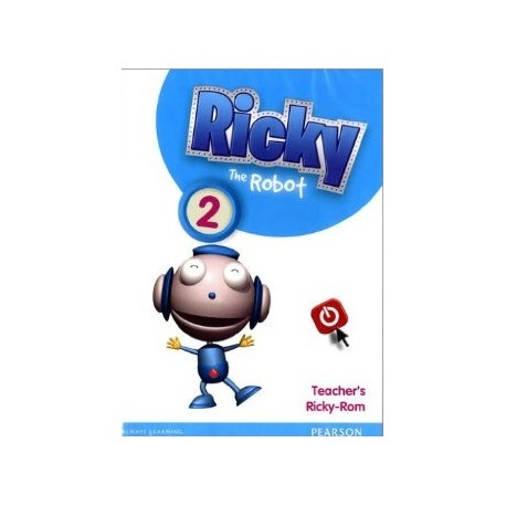 Ricky the Robot 2 Active Teach (Interactive Whiteboard Software) Pearson 9781408285503