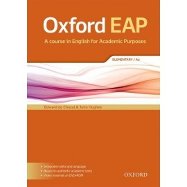 Oxford EAP English for Academic Purposes A2 Elementary Student's Book + DVD-ROM