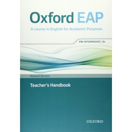 Oxford EAP English for Academic Purposes B1 Pre-Intermediate Teacher's Handbook + DVD-ROM