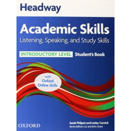 Headway Academic Skills Listening, Speaking, and Study Skills Introductory Student's Book + Oxford Online Skills