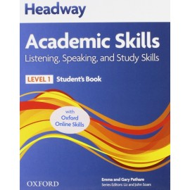 Headway Academic Skills Listening, Speaking, and Study Skills 1 Student's Book + Oxford Online Skills