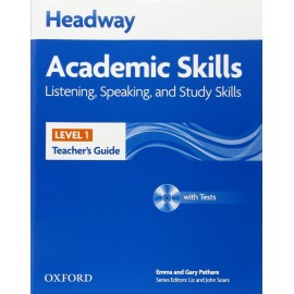Headway Academic Skills Listening, Speaking, and Study Skills 1 Teacher's Guide + Tests CD-ROM