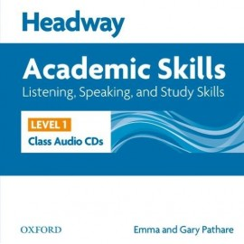 Headway Academic Skills Listening, Speaking, and Study Skills 1 Class Audio CDs