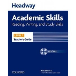Headway Academic Skills Reading, Writing, and Study Skills 1 Teacher's Guide + Tests CD-ROM