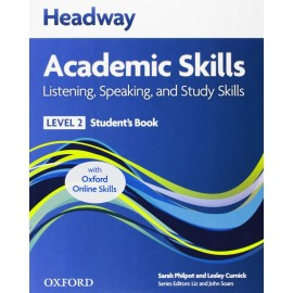 Headway Academic Skills Listening, Speaking, and Study Skills 2 Student's Book + Oxford Online Skills