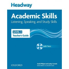 Headway Academic Skills Listening, Speaking, and Study Skills 2 Teacher's Guide + Tests CD-ROM