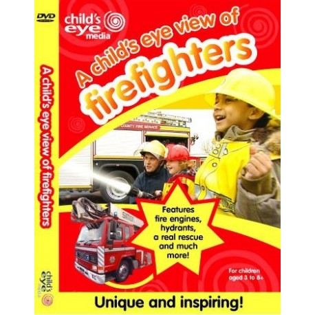 A Child's Eye View of Firefighters DVD Child's Eye Media 5060094290119